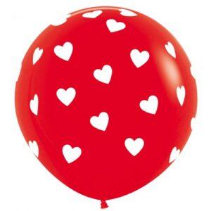 Valentijn ballon decoratie